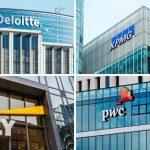 Các vụ kiện của tòa án đối với Deloitte, EY, KPMG và PwC