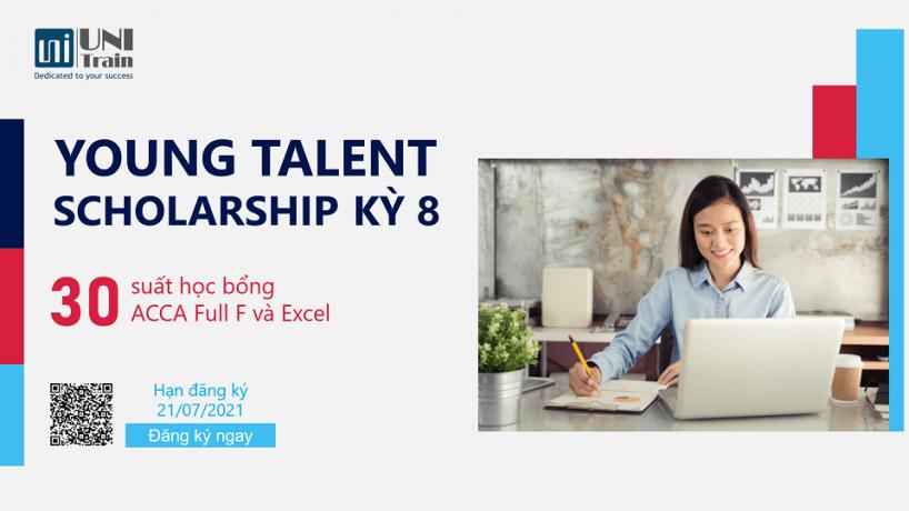 Học bổng UniTrain Young Talent Scholarship – Chắp cánh tài năng trẻ kỳ 8