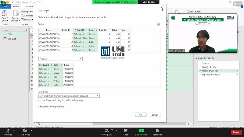 Recap Worshop Excel Online