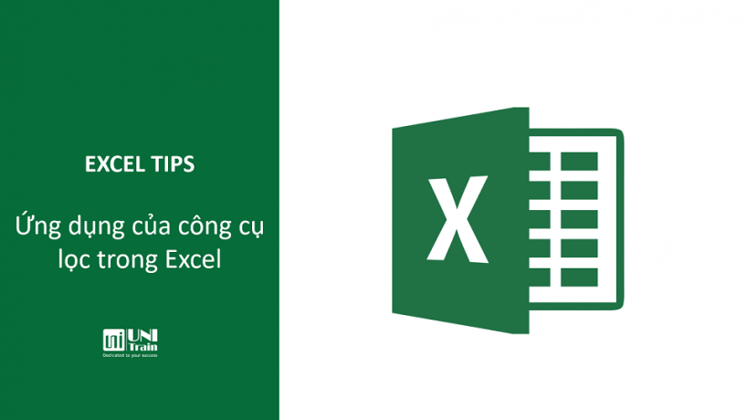 Ứng dụng của công cụ lọc (Filtering) trong Excel