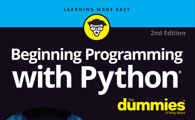 [Download tài liệu] Beginning Programming with Python For Dummies – Tìm hiểu Python cho người mới bắt đầu
