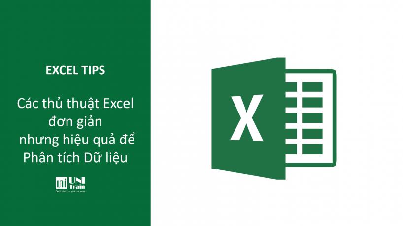 Các thủ thuật Excel đơn giản nhưng hiệu quả để Phân tích Dữ liệu