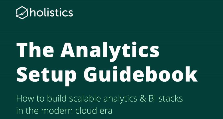 [Download tài liệu] The Analytics Setup Guidebook