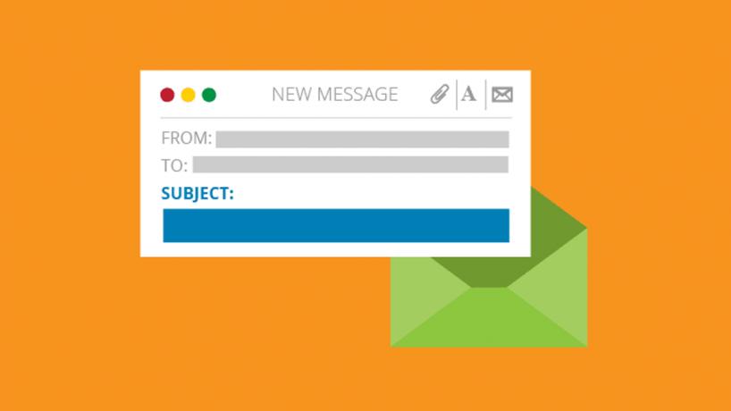 Sử dụng tiêu đề email hiệu quả để tạo lợi thế khi xin việc