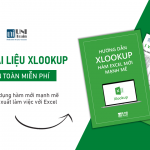 [Tải miễn phí] Tài liệu Hướng dẫn hàm XLOOKUP – Hàm mới mạnh mẽ của Excel