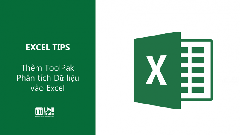 Thêm ToolPak Phân tích Dữ liệu vào Excel