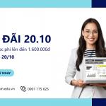 Ưu đãi 20/10/2021 – Mừng ngày Phụ nữ Việt Nam